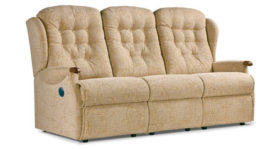 Lynton Knuckle Manual/Powered 3 Seater Recliner