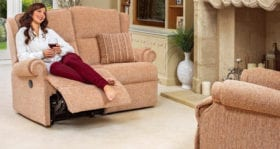 Claremont Manual/Powered 2-Seater Recliner