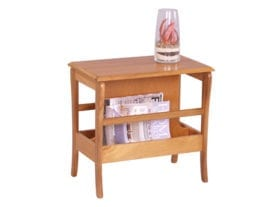 Trafalgar Occasional Table with Magazine Rack