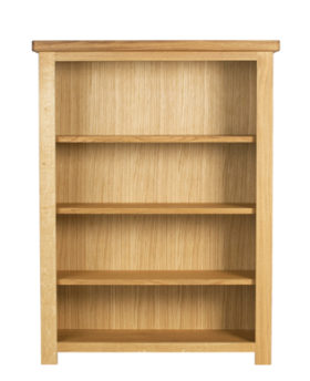 Bretagne Short Wide Bookcase