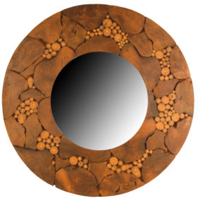 Nature's Way Woodland Round Mirror