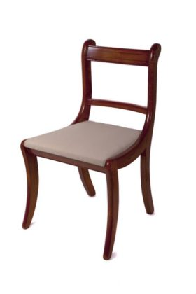 Reproduction Scroll Dining Chair