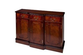 Reproduction 3 Door Breakfront Sideboard