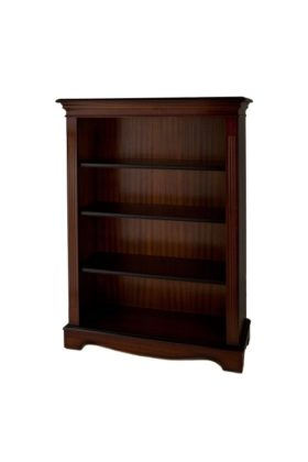Reproduction Open 4ft Bookcase