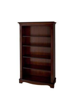 Reproduction Open 5ft Bookcase