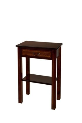 Reproduction 1 Drawer Chippendale Hall Table