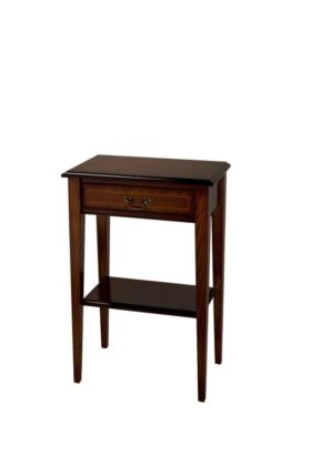 Reproduction 1 Drawer Sheraton Hall Table