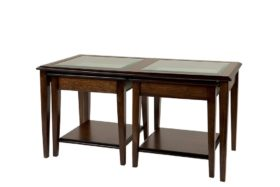 Reproduction Sheraton Lounge Nest of Tables