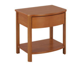 Shades Teak Shaped Lamp Table