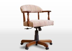 click to view old charm captains chair