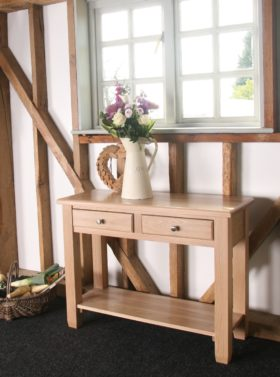 click to view pelham console table