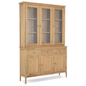 click to view harbour oak large dresser