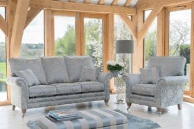 click to view eden 3 seater sofa and chair