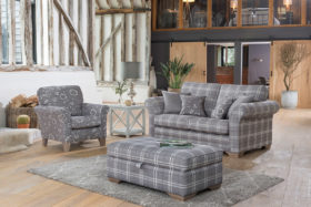 click to view franklin and georgia 2 seater sofa