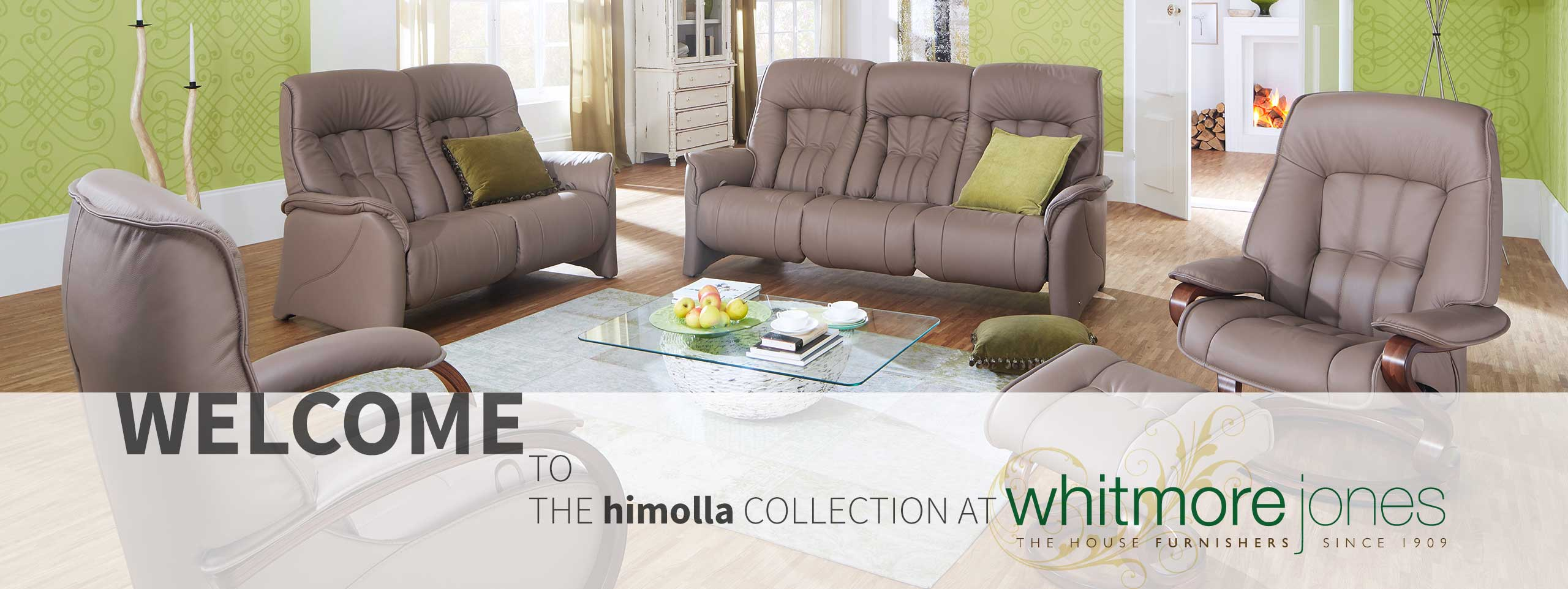 The himolla Collection from Whitmore Jones  page banner.