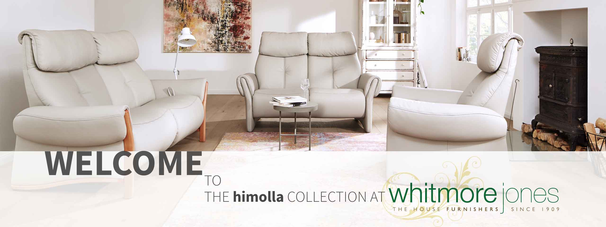Surrey landing page for Whitmore Jones himolla collection