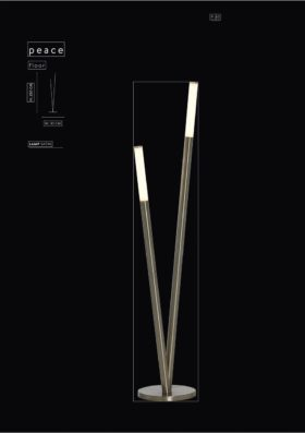 click to view danalight peace led floor lamp