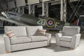 click to view spitfire 3 seater sofabed