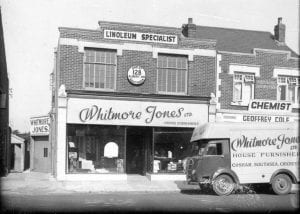 Whitmore Jones' old Cosham branch image.